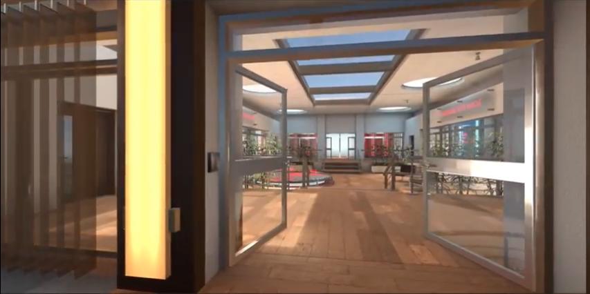 Réalité virtuelle, Démonstration showroom client