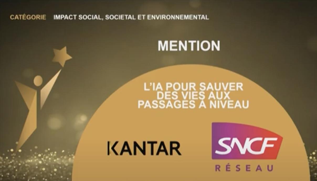 Partenariat avec Kantar & SNCF.